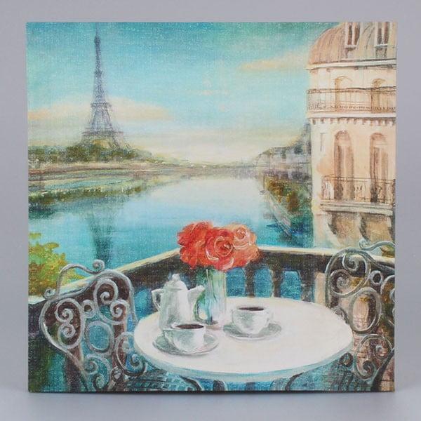 Obraz na płótnie Paris Coffee, 38x38 cm