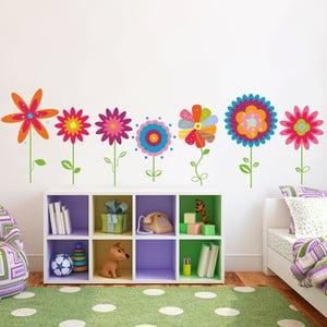 Naklejka na ścianę Kwiatuszki, 50x70 cm