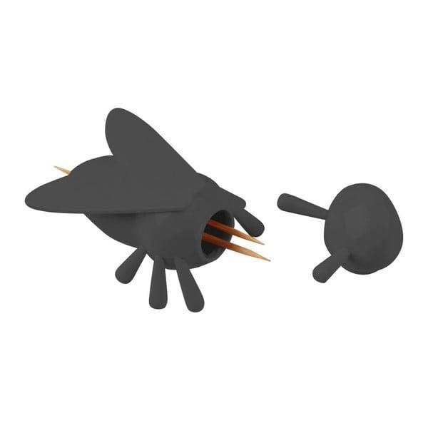 Stojak na wykałaczki Picky Bee Black