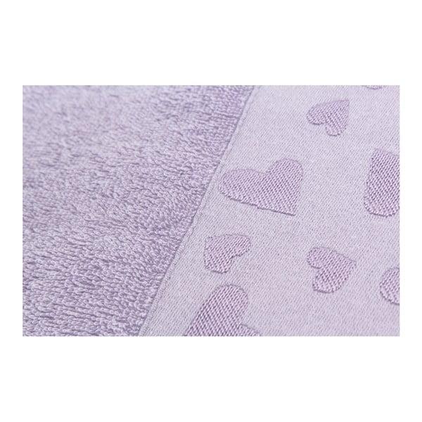 Zestaw 2 ręczników Kalp Purple, 50x90 cm