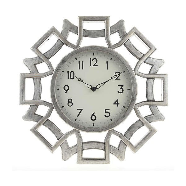 Zegar Plastic Silver, 46 cm