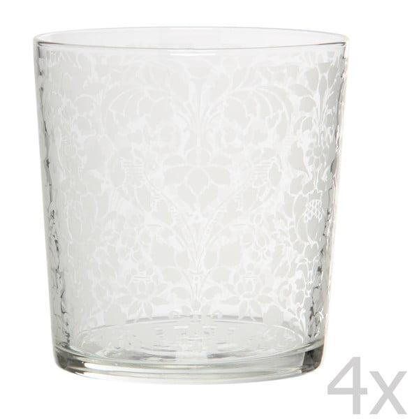 Zestaw 4 szklanek Tapisserie, 370 ml