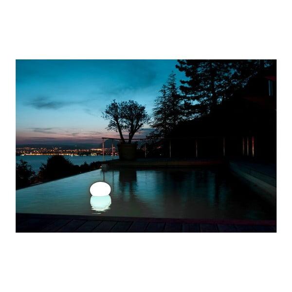 Nastrojowa lampa ogrodowa Flatball S, 25x27 cm