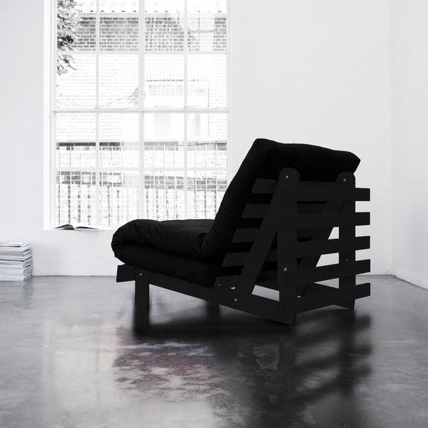 Fotel rozkładany Karup Roots Wenge/Black