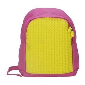 Plecak dziecięcy Pixelbag, różowy/żółty