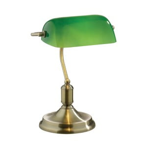 Lampa stołowa Evergreen Lights Crido Office Green