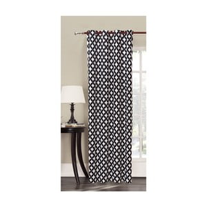 Zasłona we wzory z mikrowłókna DecoKing Mandala, 140x245 cm