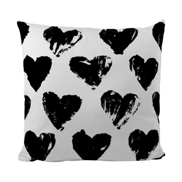 Poduszka Black Shake Do You Love Me, 50x50 cm