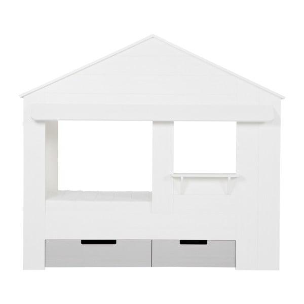 Szuflady pod łóżko Huisie, białe