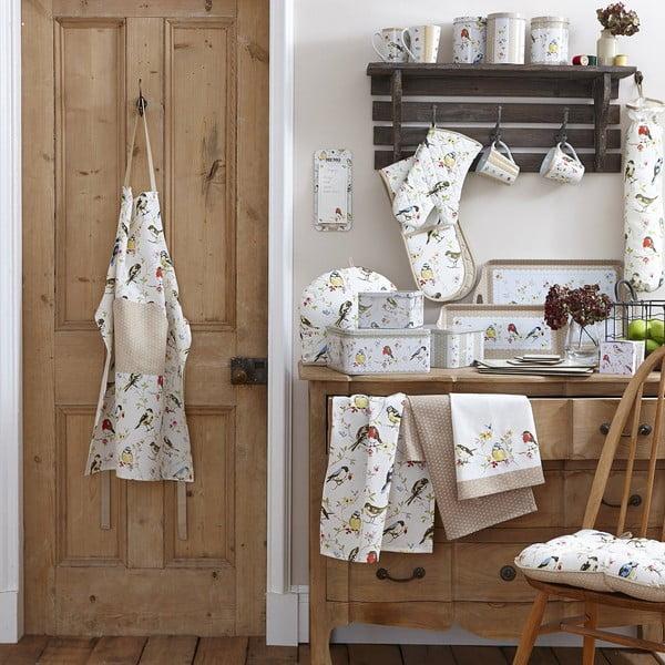 Bawełniana torba na zakupy Cooksmart England Dawn Chorus, 25x25 cm