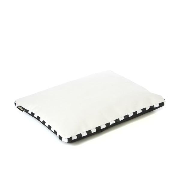 Poduszka Lona 50x40 cm, biała