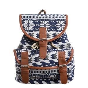 Niebiesko-biały plecak InArt Prints