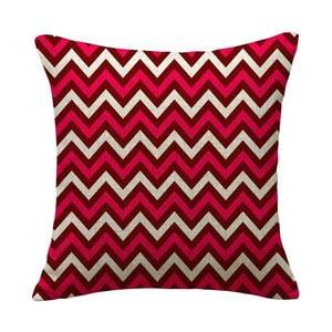Poszewka na poduszkę Ziguie Red, 45x45 cm