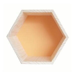 Dekoracja Hexagono Nordic Ocre