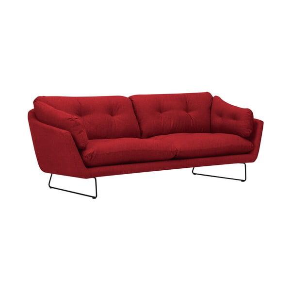 Czerwona 3-osobowa sofa Windsor & Co Sofas Comet