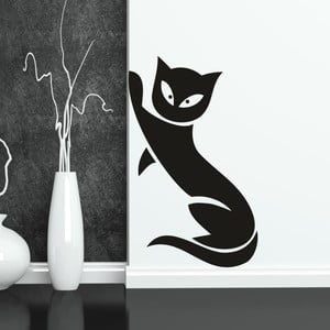 Naklejka ścienna Kot, lewa strona