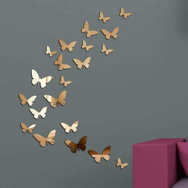 Lustro dekoracyjne Motyle