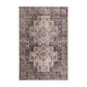 Szary dywan wełniany ręcznie wiązany Linie DesignSentimental,140x200cm