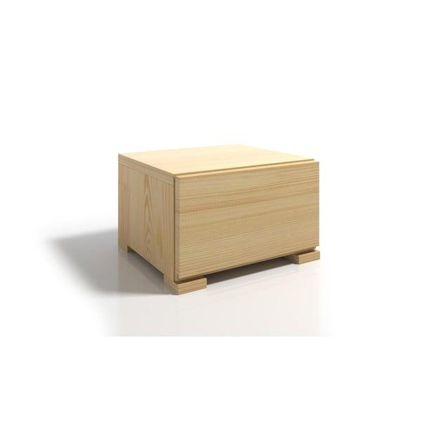 Szafka nocna z drewna sosnowego z szufladą SKANDICA Vestre