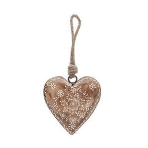 Dekoracja wisząca Country Nature Heart Single