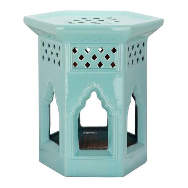 Stołek Moroccan Light Aqua