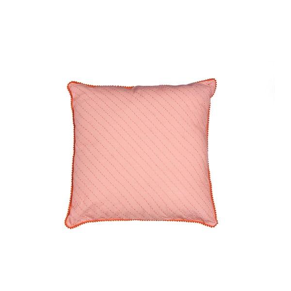 Poszewka na poduszkę Poma Salmon, 45x45 cm