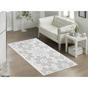 Beżowy wytrzymały dywan Penelope, 60x90 cm