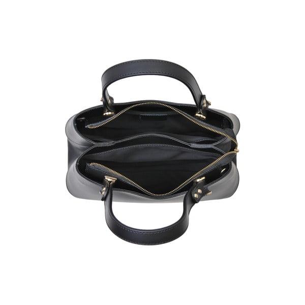Czarna torebka skórzana Andrea Cardone Sante