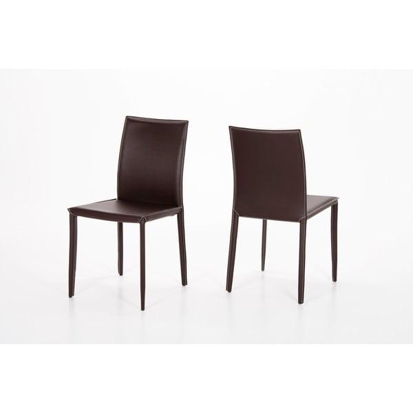 Krzesło do jadalni Andrew, brązowy