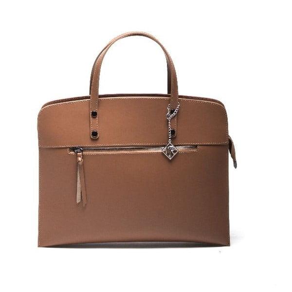 Skórzana torebka Isabella Rhea 398 Cognac