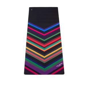 Mata do   jogi Yoga Design Lab Travel Chevron Black, 900 g