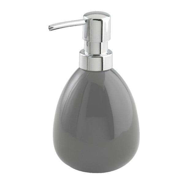 Szary dozownik do mydła Wenko Polaris