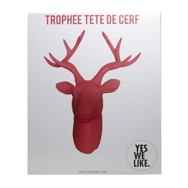 Czarna dekoracja ścienna YWL Deer