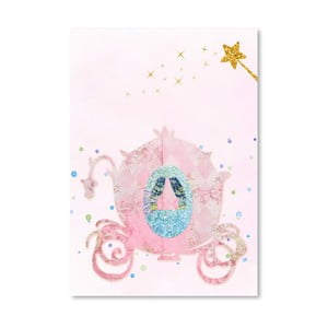 Plakat Americanflat Chariot in Pink, 30x42 cm