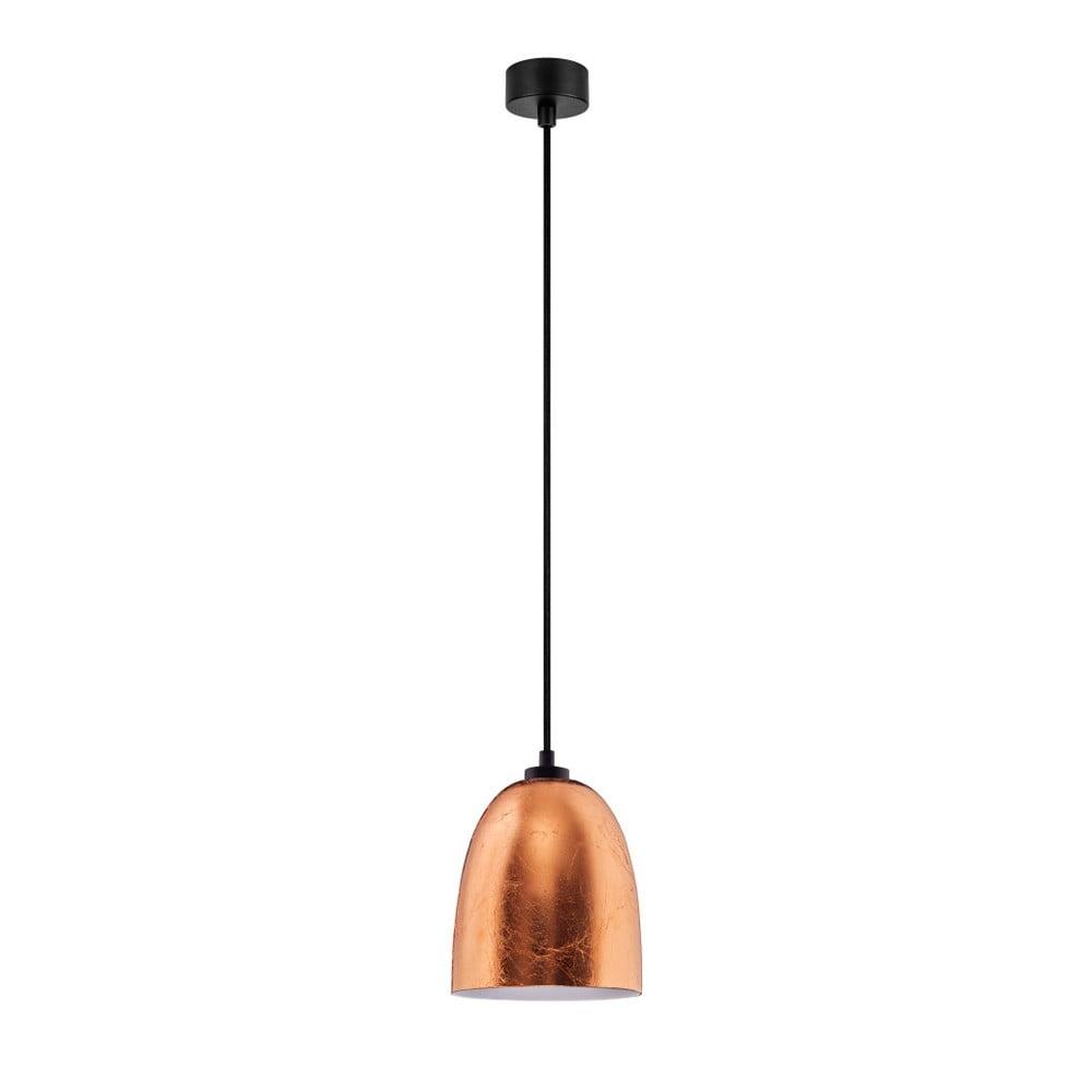Lampa wisząca w miedzianym kolorze Sotto Luce Awa