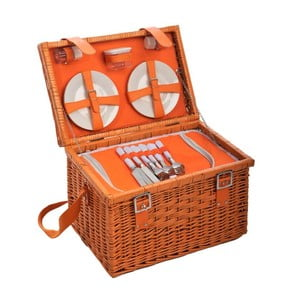 Kosz piknikowy Picnic Orange, 46x3x22 cm