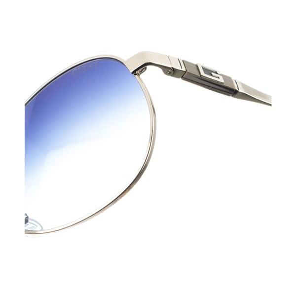 Męskie okulary przeciwsłoneczne Guess 812 Matt Silver