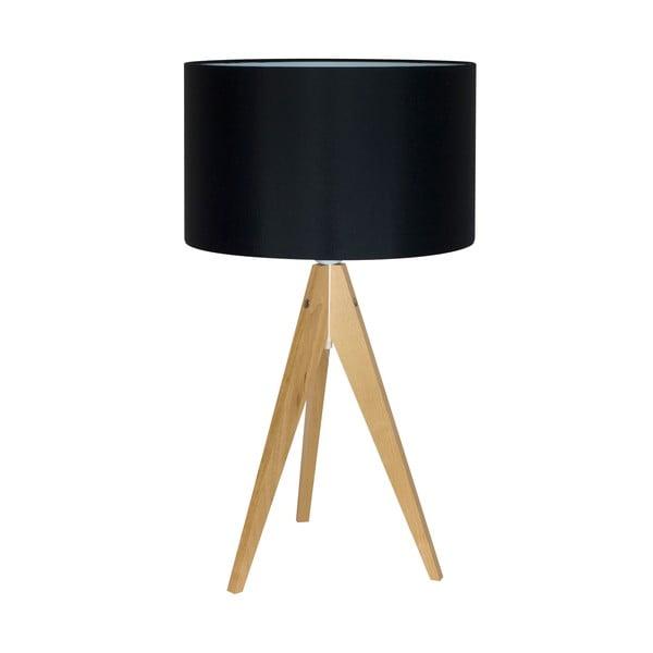 Lampa stołowa Artist Black/Birch, 40x33 cm