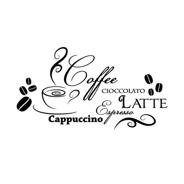 Naklejka Ambiance Design Coffee