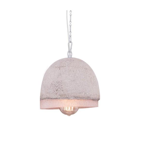 Lampa wisząca z marmurowym abażurem Fesh, 20 cm