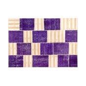 Dywan wełniany Allmode Purple, 180x120 cm