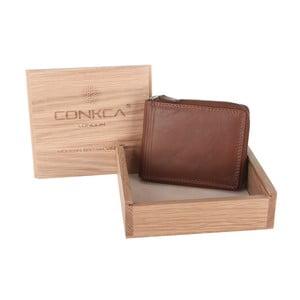 Skórzany portfel Chief Cognac
