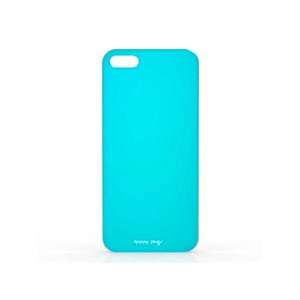 Etui Happy Plugs na iPhone 5/5S, turkusowe