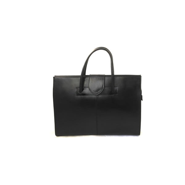 Skórzana torba Montefalco, czarna