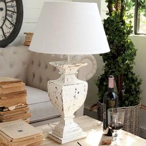 Lampa stołowa Shabby White, 68 cm