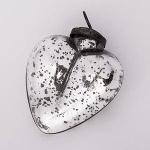 Ozdoba świąteczna Serce, 10 cm