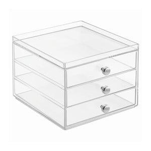 Organizer na kosmetyki z 3 szufladkami InterDesign 3 Drawers Slim