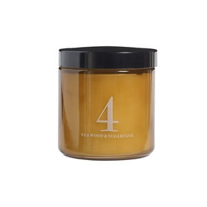 Świeczka zapachowa Relax, zapach teczyny i trzciny cukrowej