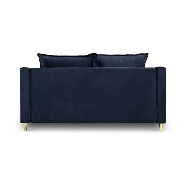 Ciemnoniebieska sofa 2-osobowa Mazzini Sofas Pansy