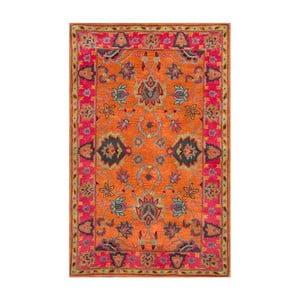 Wełniany dywan Funk Orange, 160x228 cm
